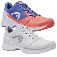 Sprint Pro Shoe by Head for Women in marine/coral or white/iridescent