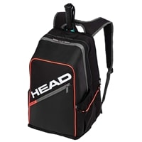 Tour Backpack by HEAD offers multiple storage compartments