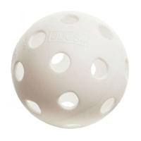 The Jugs Indoor ball comes in two great colors, lime green and white.