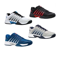 K-Swiss Express Light Pickleball Shoe in gray/blue or gray/aqua sizes 7-14