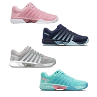 K-Swiss Express Light Pickleball Shoe in gray/blue or gray/aqua sizes 5.5-11
