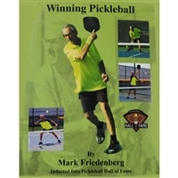 Coach and player Mark Friedenberg's book - Winning Pickleball