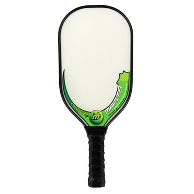 The Cobra LITE Pickleball Paddle features an elongated design in a lighter more maneuverable weight.