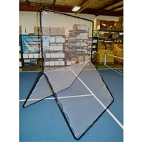 Rebounder Net, practice dinks, lobs and overheads on this net