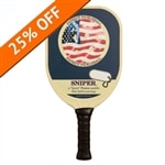 "Sniper ""Quiet"" PIckleball Paddle by Patriot Pickleball"