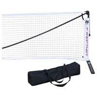 SwiftNet Portable Pickleball Net, strong and lightweight. Includes carrying bag.