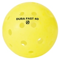 The Dura Outdoor ball is available in four colors: yellow, white, neon and orange