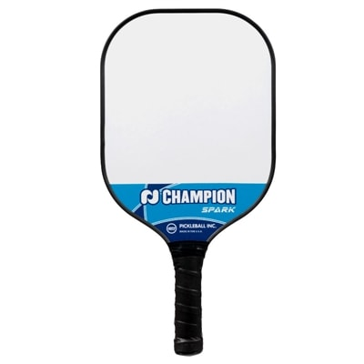 Champion Spark Pickleball Paddle-poly core paddle, light weight. Choose from two colors