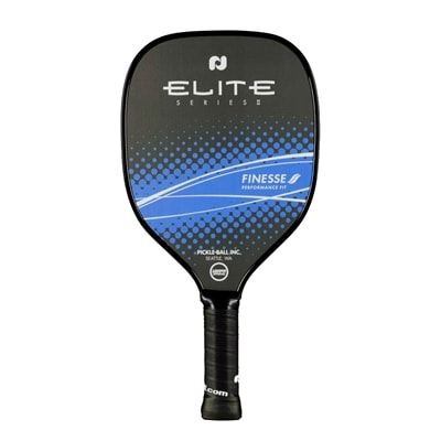 Elite Finesse II Graphite Paddle, blue or magenta color options