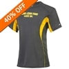 Zero-Zero-Two Game On Shirt for men, available in gray with gold accent, sizes S-3XL