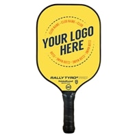 Custom Designed Pickleball Paddles with personalized artwork.