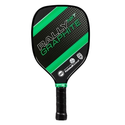 Rally NXT Graphite Paddle, choose from green, red or yellow.