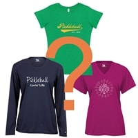 Pickleball Mystery Shirt package