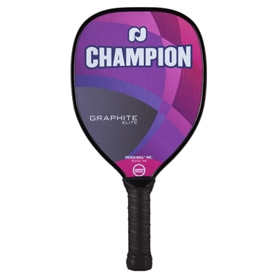Champion Graphite Elite Paddle, choose from blue, gray, purple or red