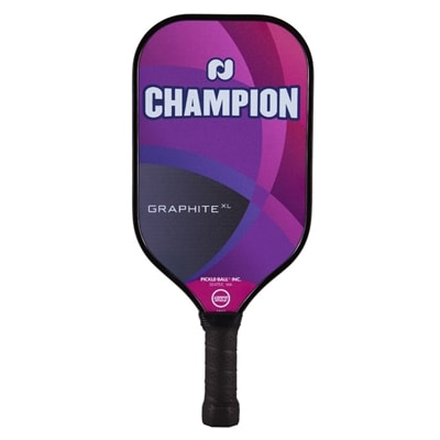 Champion Graphite XL Paddle, choose from blue, gray, purple or red
