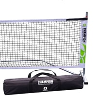 Champion Portable Net System and carry bag.