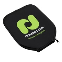 Pickle-ball Inc. Paddle Cover with zipper closure.