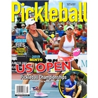 Pickleball Magazine Subscription, discount price for USAPA members, 6 issues a year.