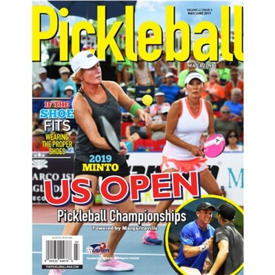 Pickleball Magazine Subscription, 6 issues a year.