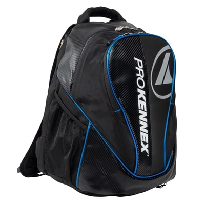 ProKennex QGear Backpack features large main compartment and padded straps for comfort.