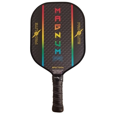 Magnum Graphite Stealth, displaying the flashy burst design players have come to love. Choose from six electrifying colors combinations