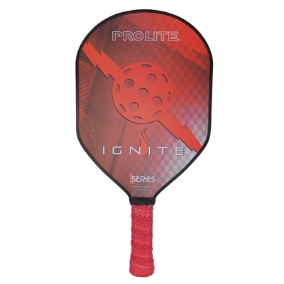 Ignite Hybrid Pickleball Paddle-choose from red or black
