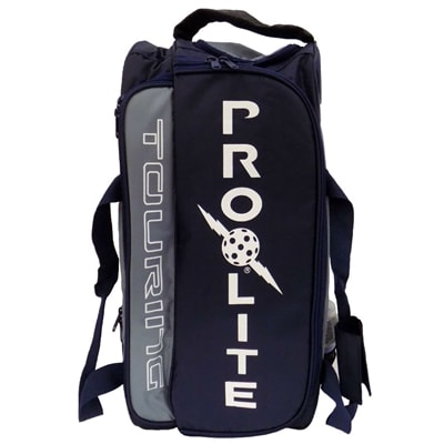 ProLite Touring Bag features adjustable dividers inside large main compartment.