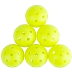 P7 Outdoor Pickleball, available in six or 12 count packages