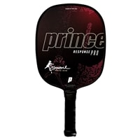Response Pro Composite Paddle by Prince Pickleball, choose from 2 weights, 2 grips sizes and five colors.