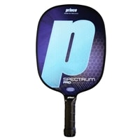 Spectrum Pro Composite Paddle By Prince Pickleball, choose from 2 weights, 2 grips sizes and four colors.