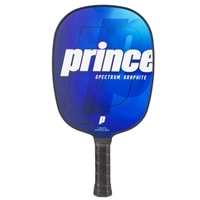 The Spectrum Pickleball Paddle is available in two colors and two grips sizes.