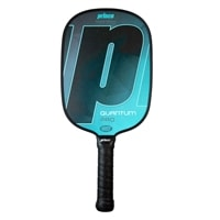 The Quantum Pro Pickleball Paddle is available in two colors and two grips sizes.