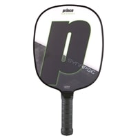The Prince Synapse Paddle offers gray or purple.
