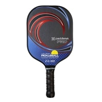 The US OPEN Tempest Pro Paddle is available in two grip sizes.