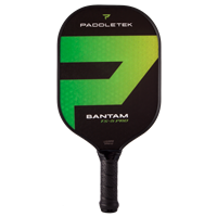 Bantam TS-5 Pro Composite Pickleball Paddle, choose from 2 weights, 2 grips sizes and five colors.