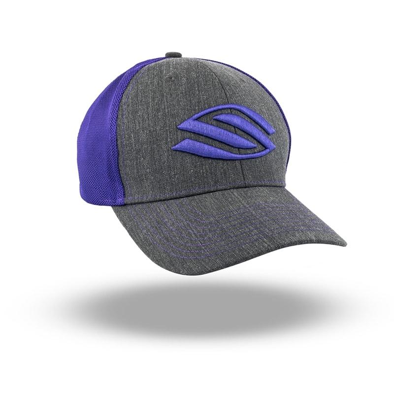 Selkirk Sport Core Hat Adjustable Hat  Large Logo   Color Gray