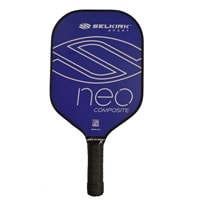 NEO Composite Pickleball Paddle available in red or blue,great for beginners