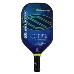 Omni 31P XO Polymer Core Paddle, elongated design and eye-catching graphics!