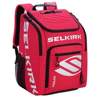 Selkirk TOUR Backpack features plenty of storage, padded shoulder straps for comfort.