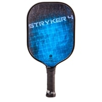 Stryker 4 Composite Pickleball Paddle, poly-core and fiberglass face.