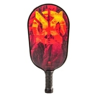 Summit C1 Composite Pickleball Paddle, elongated shape for greater reach.