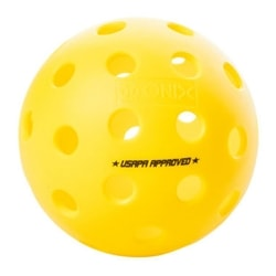 This ball plays consistently right out of the package, available in 3, 6, or 12 count package.