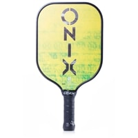 React Graphite Paddle, hyper-lite performance allows for quick reaction at the net.  Choose from black or green.