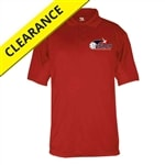 USAPA logo printed on Mens Performance Polo. Sizes S-3XL. Black, Red