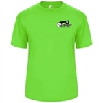 USAPA logo on Players Tee for Men. Sizes S-3XL. Navy, Red, Safety Yellow, Lime