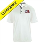 Ultimate UV Mens Polo with USAPA printed log. Sizes S-3XL. White