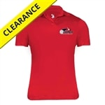 USAPA printed logo on Performance Polo for Women. Sizes S-2XL. Black, Red