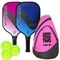 Vulcan V320 Hybrid 2-Paddle Bundle w/Sling- includes two paddles, 3 outdoor balls and sling bag