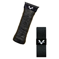 Cooling, moisture-wicking overgrip in black or white by Vulcan.