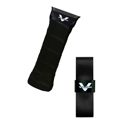 Super tacky overgrip by Vulcan, choose from black or white.